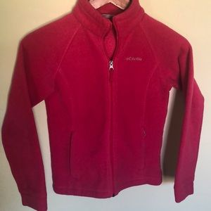 Girl's Columbia Fleece Jacket